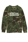 Kid's Spiritual Gangster Camo Sweater at Zenbar - Biggest Spa Oakville