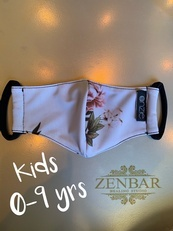 Kid Pink Flower - Kids Masks by Zenbar