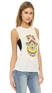 Colourful Hamsa Tank at Zenbar - Best Spa Oakville