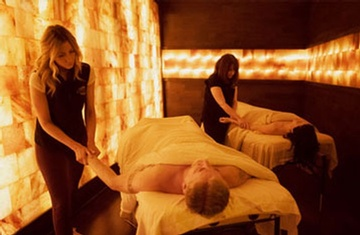 Couples Salt Cave Massage at Zenbar - Biggest Spa Oakville