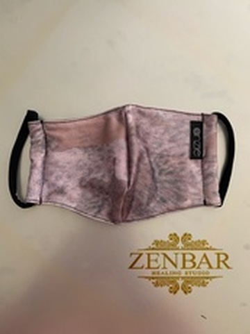 Wbyercolour Rose - Onzie Face Masks by Zenbar
