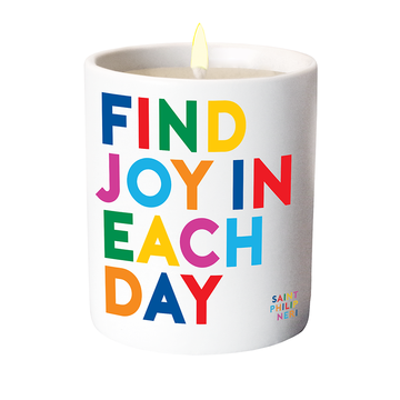 candle find joy